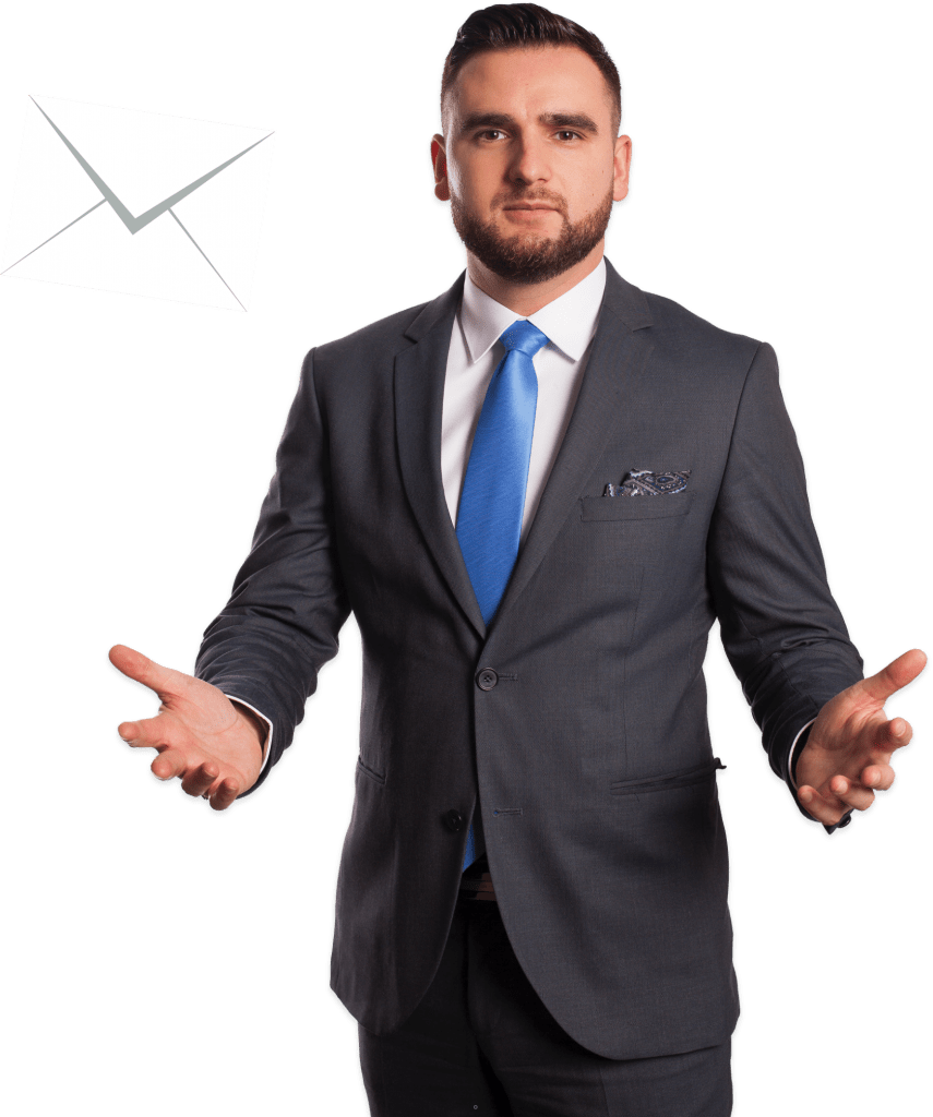 Filip Powroźnik. Przewodnik poproblemach finansowych. Jak radzić sobie zdługami ikomornikiem? E-mail, poczta. Oczym jest książka Filipa Powroźnika?