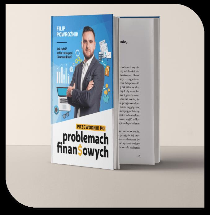 Filip Powroźnik. Przewodnik poproblemach finansowych. Książka, wydanie papierowe, okładka.